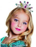 Diadem Krone Prinzessin für Kinder bunt