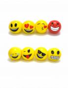Emoji LED-Ring Lizenzartikel bunt