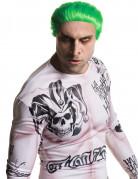 Suicide Squad Joker Kurzhaar-Perücke Lizenzware grün