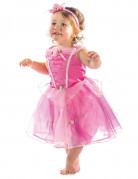 Prinzessin Aurora Kostüm Lizenzartikel für Kleinkinder rosa