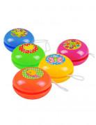 Mini Jo-jo Partyspiel-Set 5 Stück bunt