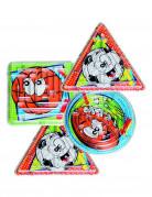 Labyrinth-Spiel Spielzeug-Labyrinthe 4 Stück bunt 6x6cm