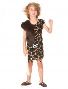 Höhlenmenschen Kinderkostüm Steinzeit Kostüm braun-beige