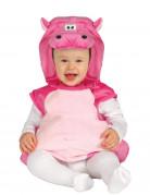Nilpferd-Babykostüm Niedliches Tierkostüm pink