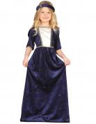 Mittelalter-Kinderkostüm dunkelblau