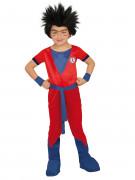 Manga-Kostüm Kinder rot