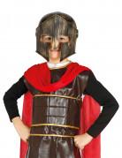 Gladiatoren-Kinderhelm antiker Kämpfer-Kinderhelm schwarz-kupfer