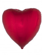 Folienballon rotes Herz 45cm