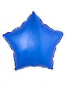 Sternförmiger Folienballon blau