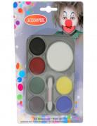Karneval-Schminkpalette 7 Farben bunt 5g