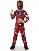 Power Rangers™ Jungenkostüm Superheldenverkleidung rot