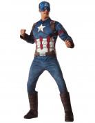 Avengers™ Captain America™ Deluxe Herrenkostüm blau-weiss-rot