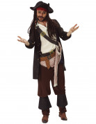 Jack Sparrow™-Kostüm Fluch der Karibik Faschingskostüm schwarz-weiss