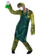 Verrückter radioaktiver Chirurg Herrenkostüm grün