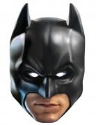Batman™ Lizenz-Pappmaske für Erwachsene schwarz