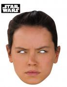 Star Wars VII™ Rey-Maske hautfarben-schwarz