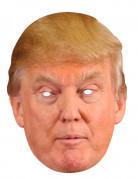 Donald Trump Pappmaske hautfarben-gelb