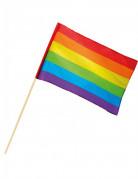 Regenbogen Flagge Party-Deko bunt 30x45cm