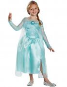 Frozen Elsa Kinderkostüm Lizenzware hellblau