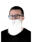 Weihnachtsmann-BartKostümaccessoire weiss