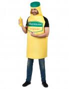 Mayonnaise Erwachsenenkostüm gelb-grün