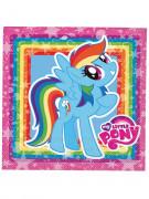 Party Papier Servietten My Little Pony Lizenzartikel 20 Stück bunt 33x33cm
