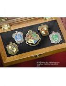 Harry Potter Hogwarts Wappen-Anstecker 5-teilig bunt