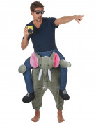 Witziges Elefantenkostüm Carry-Me-Kostüm