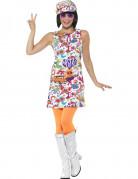 Cooles 60er Jahre Hippie-Kostüm Damen