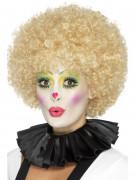 CLown-Kragen Kostümaccessoire schwarz
