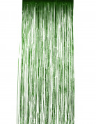 Vorhang grün schimmernd