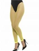 Netzstrumpfhose Damenstrümpfe Leggings fluoreszierend grün