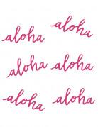 Aloha Konfetti Dekostreu 6 Stück pink 31,8g