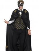 Barock-Kostüm für Herren schwarz-gold