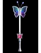 Schmetterlings-Zauberstab mit Licht 40cm