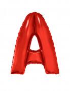 Riesiger Buchstaben-Luftballon A rot 102cm