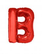 Riesiger Buchstaben-Luftballon B rot 102cm