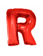 Riesiger Buchstaben-Luftballon R rot 102cm