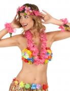 Hawaiiketten-Set 4-teilig rosa