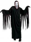 Geist Halloween-Kinderkostüm schwarz-weiss