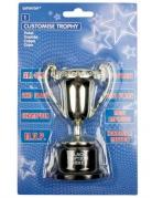 Sieger-Pokal Sport Trophäe gold-schwarz 12cm