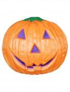 Freundlicher Kürbis Halloween Party-Deko orange 28cm