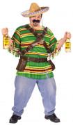 Big Shot Mexikaner Kostüm bunt