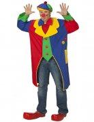 Clownsmantel Kostümzubehör bunt