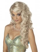 Meerjungfrau Perücke blond