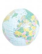 Aufblasbarer Globus Wasserball bunt 28cm