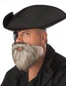Karibischer Piraten Kapitän Bart grau