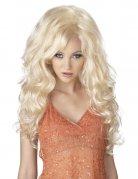 Sexy Blondine Perücke blond