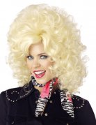 Country Western Sängerin Perücke blond