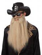 Rocker Vollbart Sharp Dressed Man blond